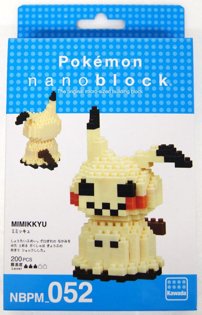Kawada NBPM-052 nanoblock Pokemon Mimikyu