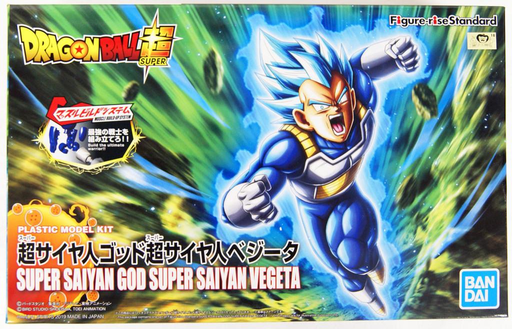 Bandai Figure-Rise Dragon Ball SUPER SAIYAN GOD SUPER SAIYAN VEGETA (Renewal Ver.) Kit