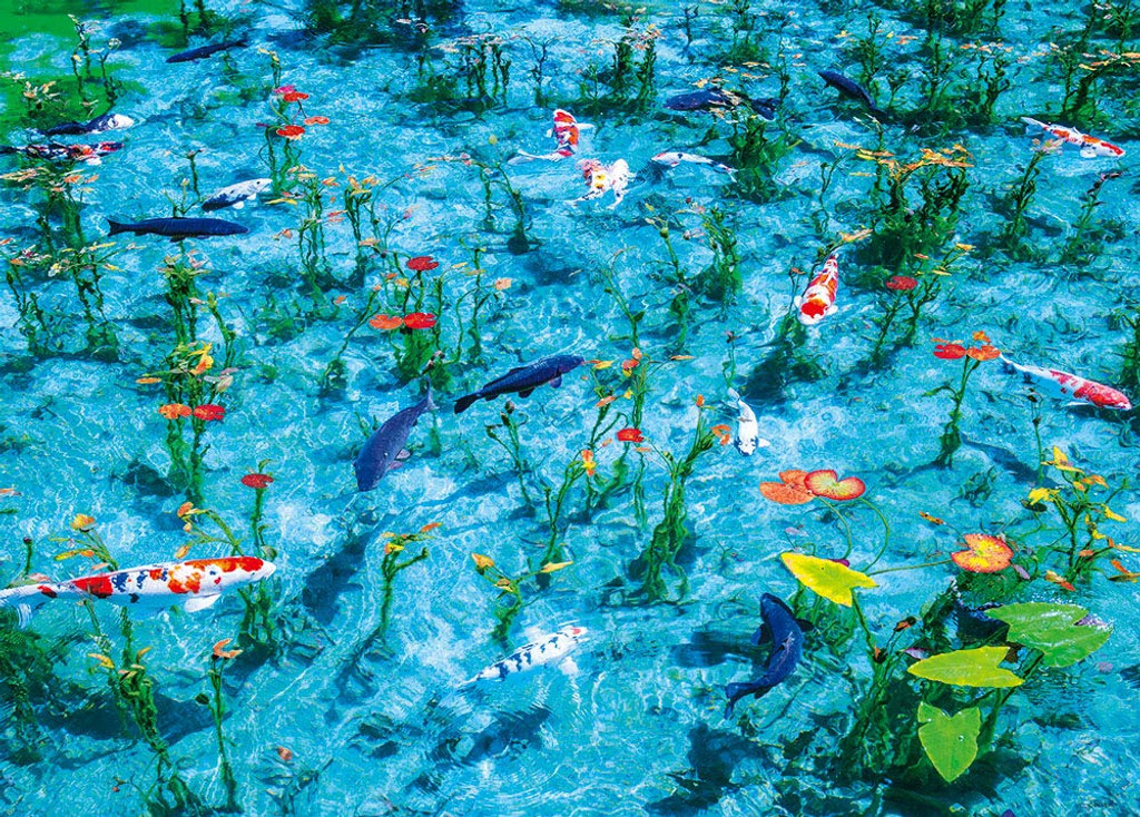 Beverly Jigsaw Puzzle 66-129 Gifu Japan Monet's Pond (600 Pieces)
