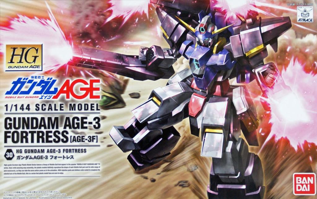 Bandai Gundam HG AGE-30 Gundam AGE-3 Fortress (AGF-3F) 1/144 Scale Kit