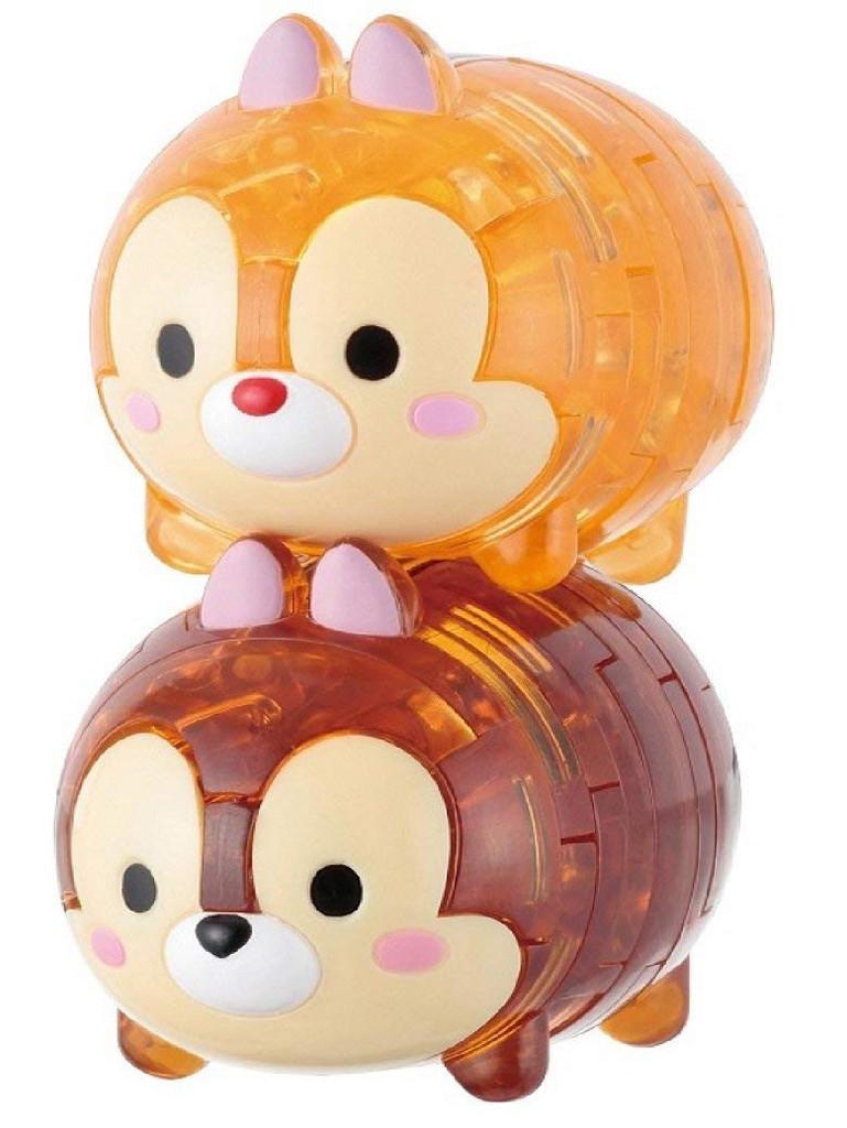 Hanayama Crystal Gallery 3D Puzzle Disney Chip & Dale 4977513065740