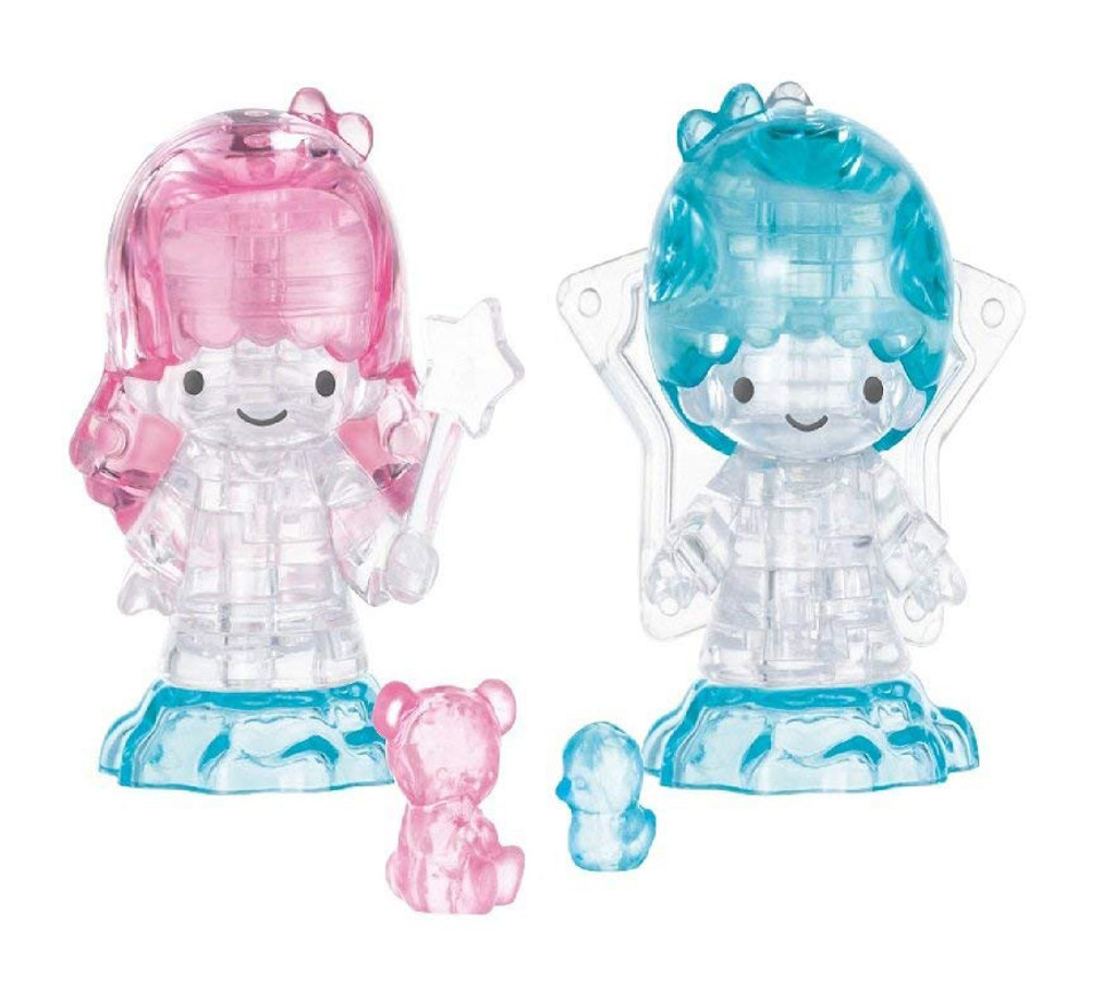 Hanayama Crystal Gallery 3D Puzzle Sanrio Little Twin Stars 4977513076319