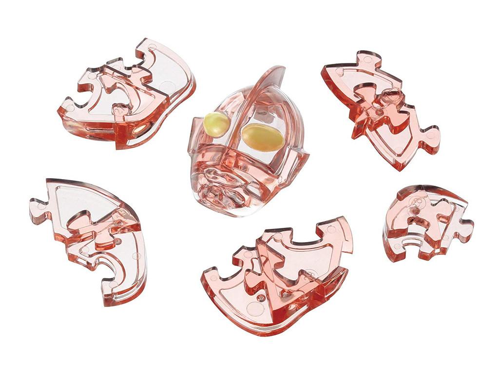 Hanayama Crystal Gallery 3D Puzzle Ultraman 4977513065764