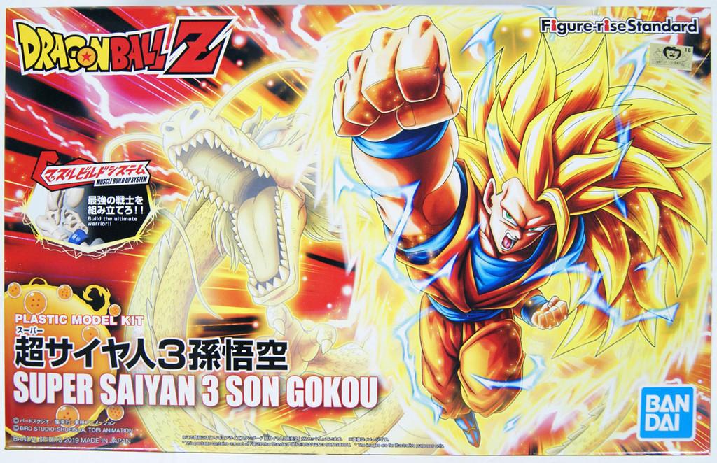 Bandai Figure-Rise Standard SUPER SAIYAN 3 SON GOKOU Renewal Ver. Plastic Model Kit