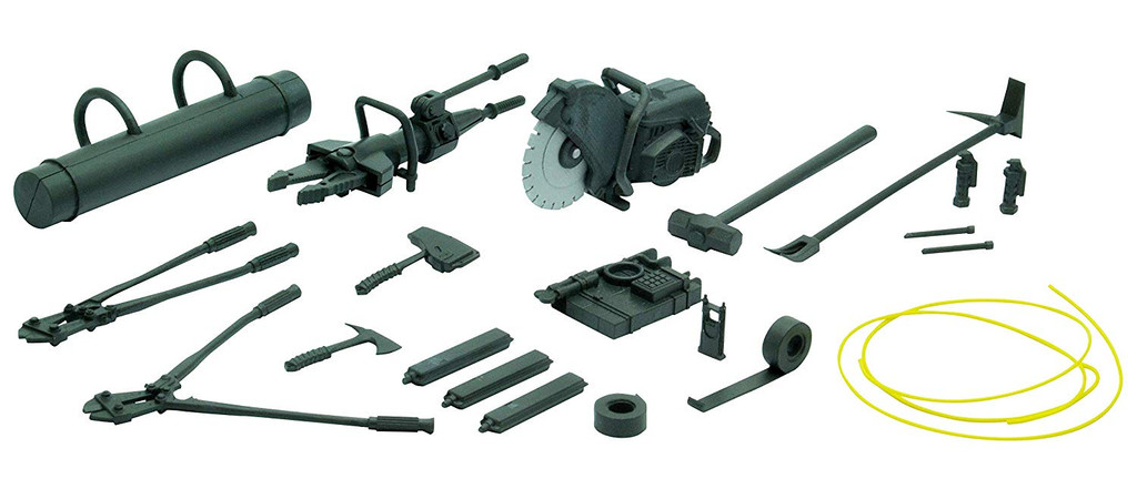 Tomytec LD024 Military Series Little Armory Bleaching Tool A 1/12 Scale Kit