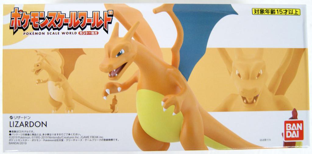 Bandai Candy Pokemon Scale World Kanto Charizard 1/20 Scale Figure