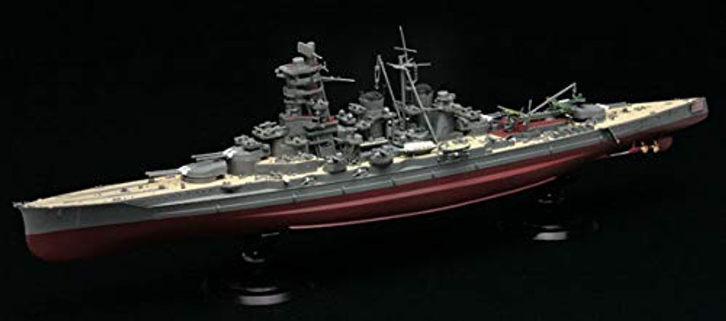 Fujimi FH-6 EX-2 IJN Battleship Kongo Special Version (w/Photo-Etched Parts) 1/72 Scale Kit