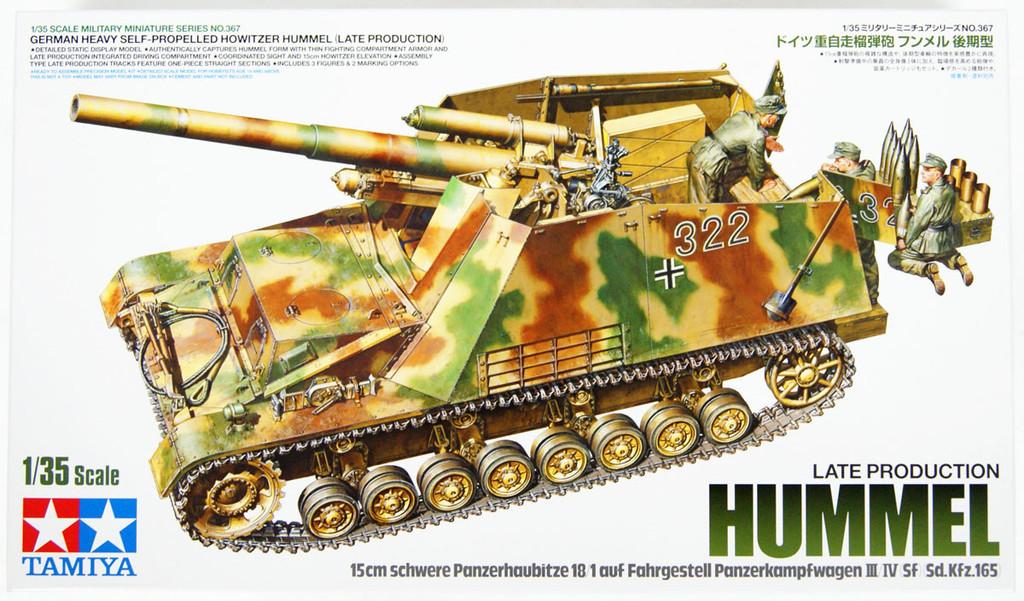 Tamiya 35367 German Heavy Self-Propelled Howitzer Hummel Late Prod. 1/35 kit