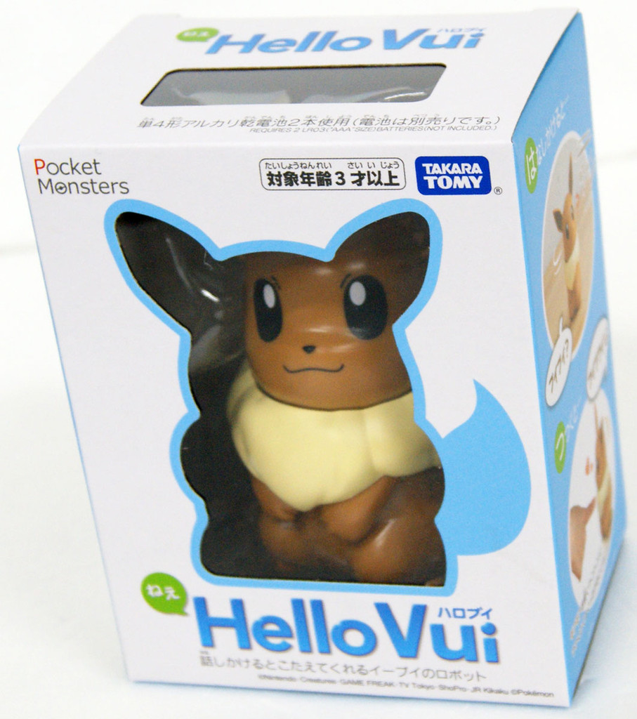 Takara Tomy Pocket Monsters Hello Vui (Eevee) Talking Figure