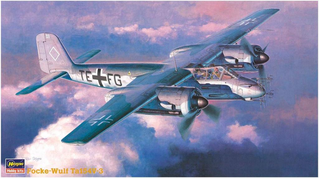 Hasegawa CP15 Focke-Wulf Ta154V-3 1/72 Scale Kit