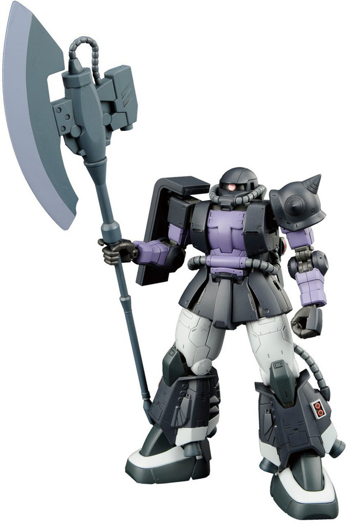 Bandai Gundam The Origin 005 MS-06R-1A ZAKU II 1/144 Scale Kit
