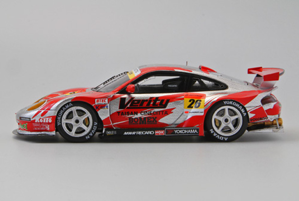 Ebbro 44576 Verity Taisan Porsche Super GT300 2011 #26 (Resin Model) 1/43 Scale