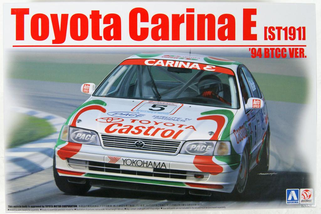 Aoshima BEEMAX 06747 No.26 Toyota Carina E ST191 '94 BTCC Ver. 1/24 Scale Kit