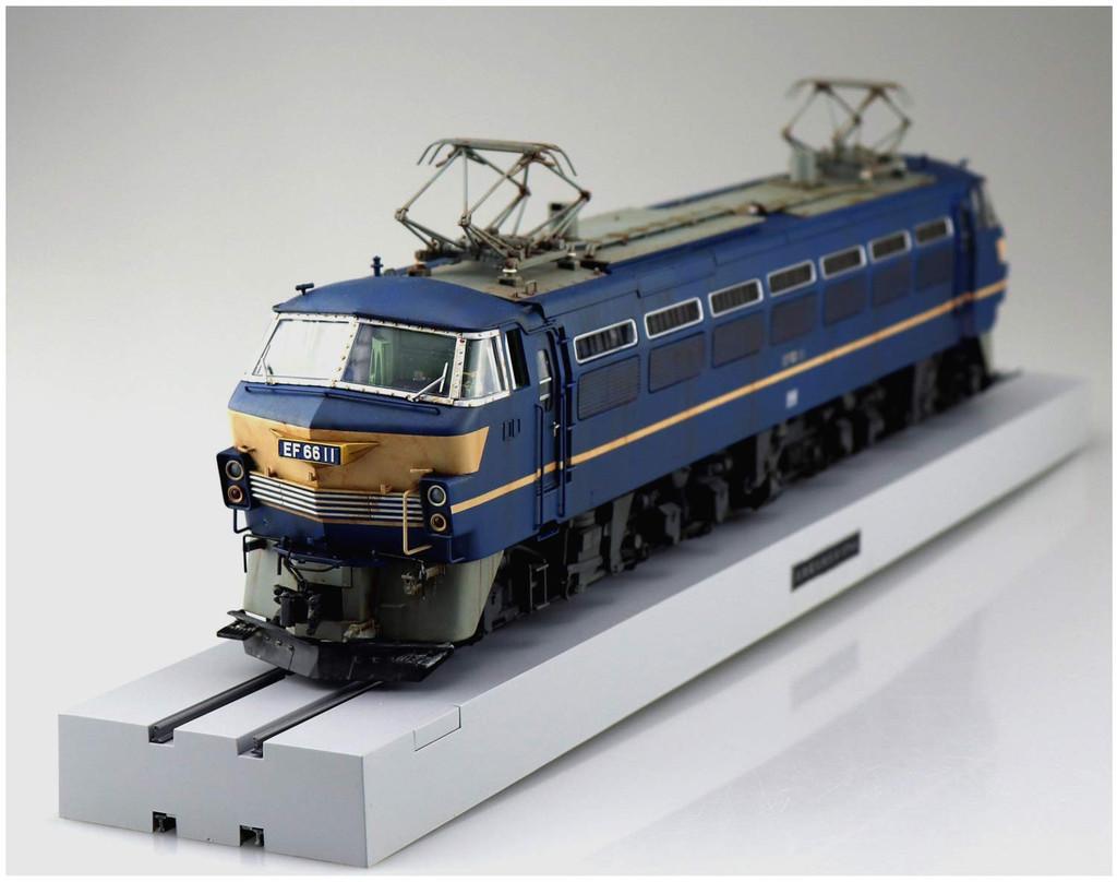 Aoshima 54086 Train Museum OJ Series #05 Electric Locomotive EF66 Early Type 1/45