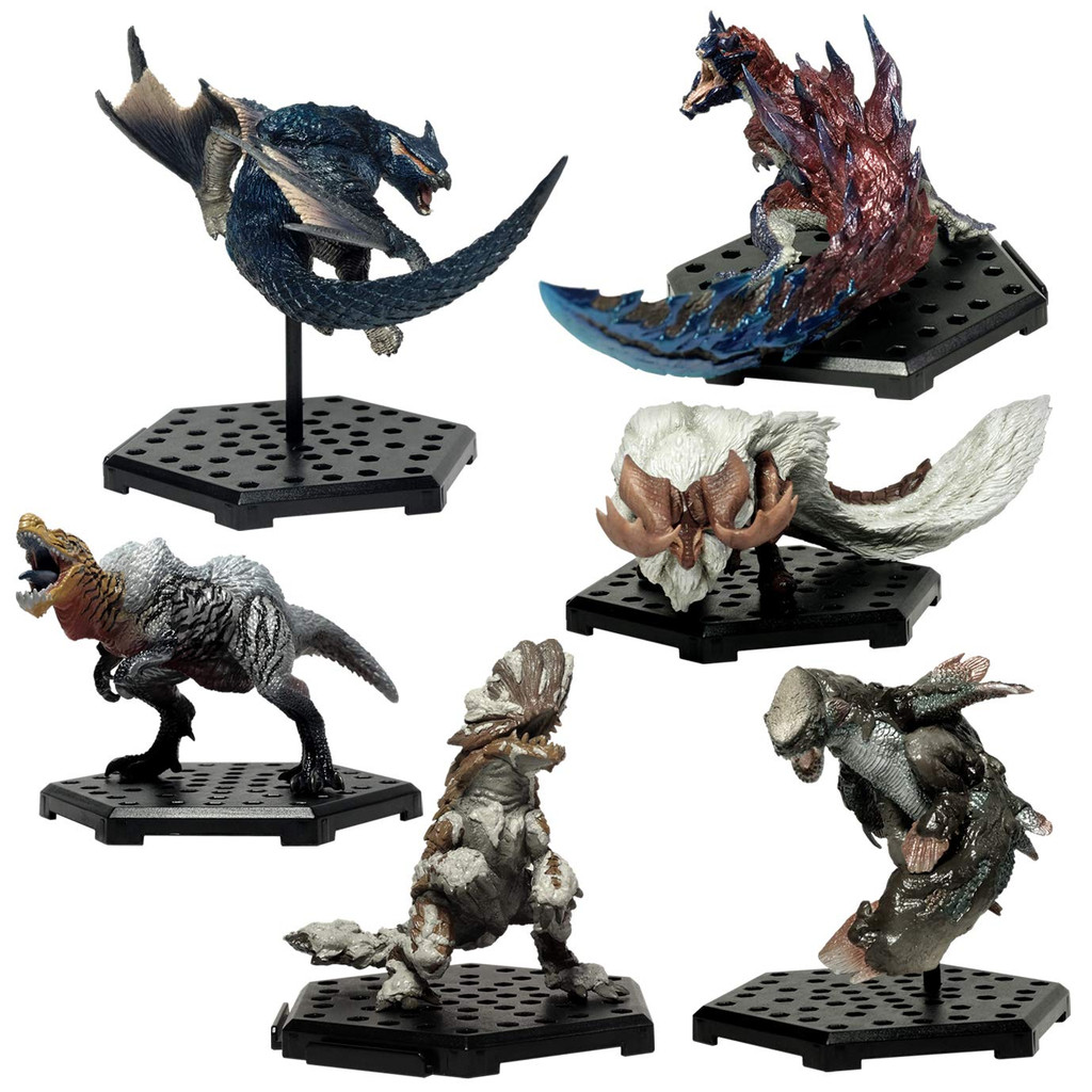 Capcom Figure Builder Monster Hunter Standard Model Plus Vol. 15 BOX (6 Pcs + Bonus)