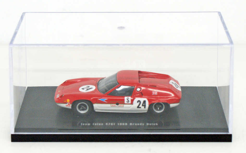 Ebbro 44643 Team Lotus Type 47GT 1968 Brands Hatch (Resin Model) 1/43 Scale