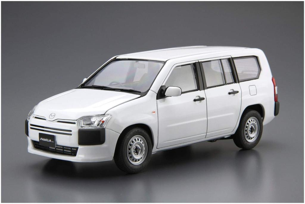 Aoshima 57865 The Model Car SP Mazda NCP160M Familia Van '18 1/24 Scale kit