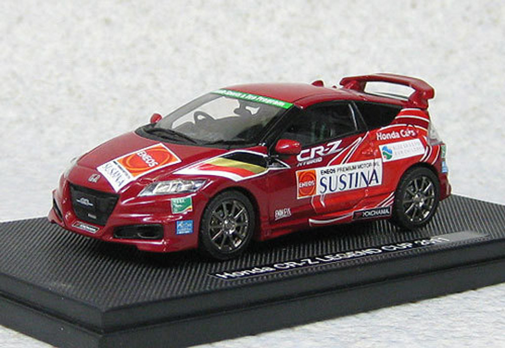 Ebbro 44693 Honda CR-Z Mugen Legend Cup 2011 Set C (Red) 1/43 Scale