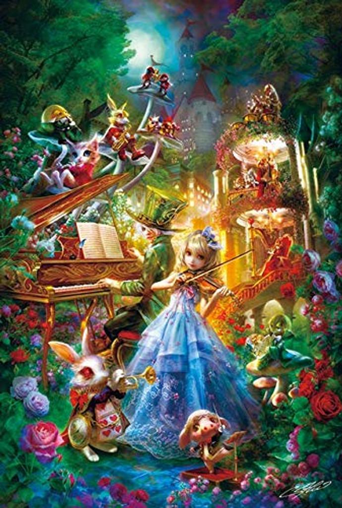APPLEONE Jigsaw Puzzle 300-343 Alice Symphony (300 Pieces)