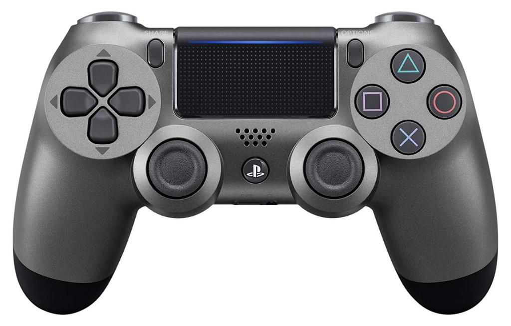 Sony PS4 PlayStation 4 Controller (DUALSHOCK 4) Steel Black JTK-4948872414579