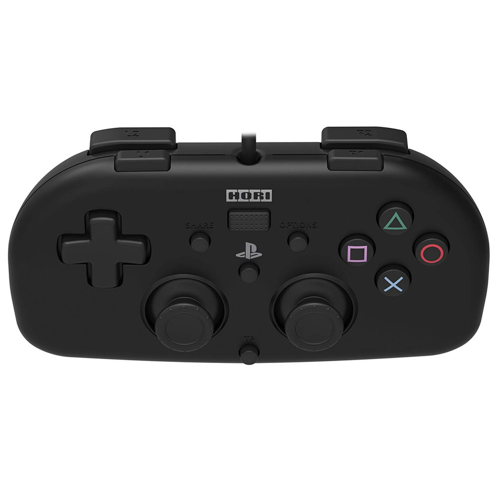 Hori PS4 PlayStation 4 Wired Controller Light (Black) JTK-4961818028364