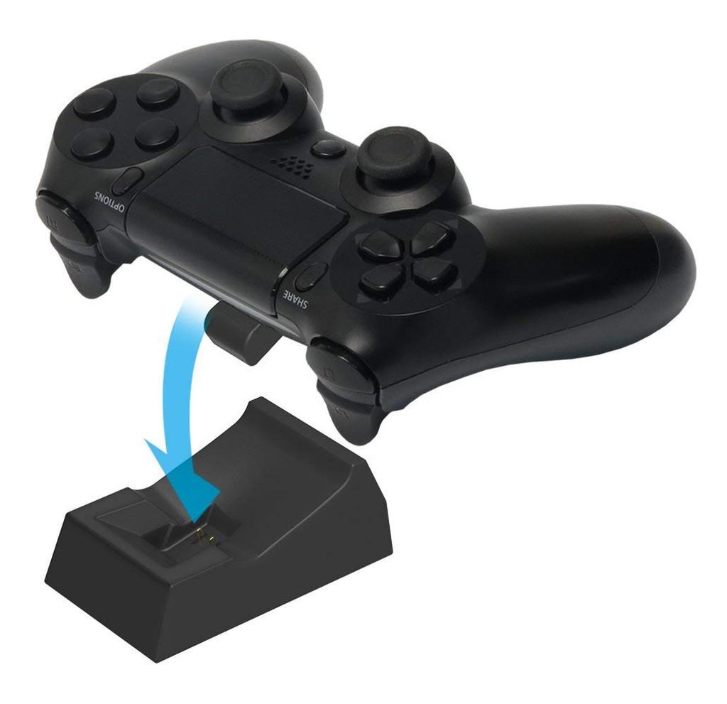 Hori DS4 DUALSHOCK 4 Single Charging Stand Black JTK-4961818026285