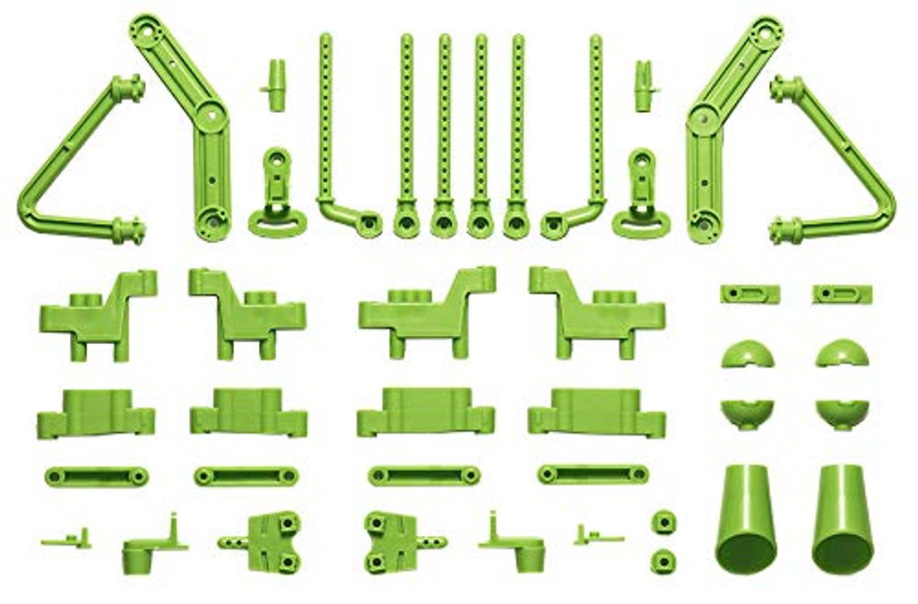 Tamiya 47407 L/N Parts Body Mounts Suspension Arms Set Yellow Green for WR02-CB