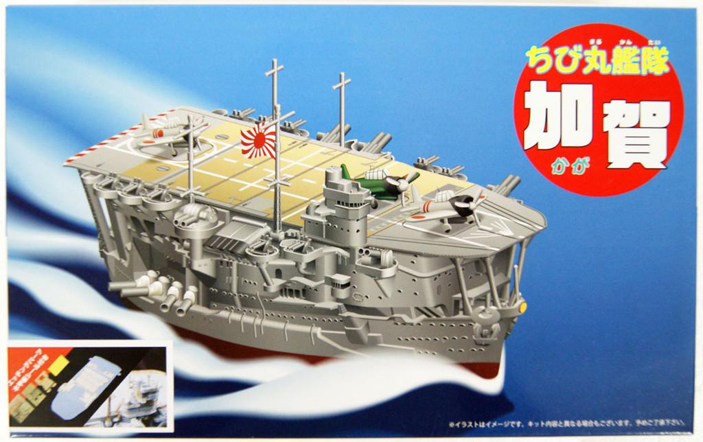 Fujimi 22893 34 Chibi-Maru Fleet Kaga (w/Photo-Etched & Wooden Deck Sticker) non-scale kit