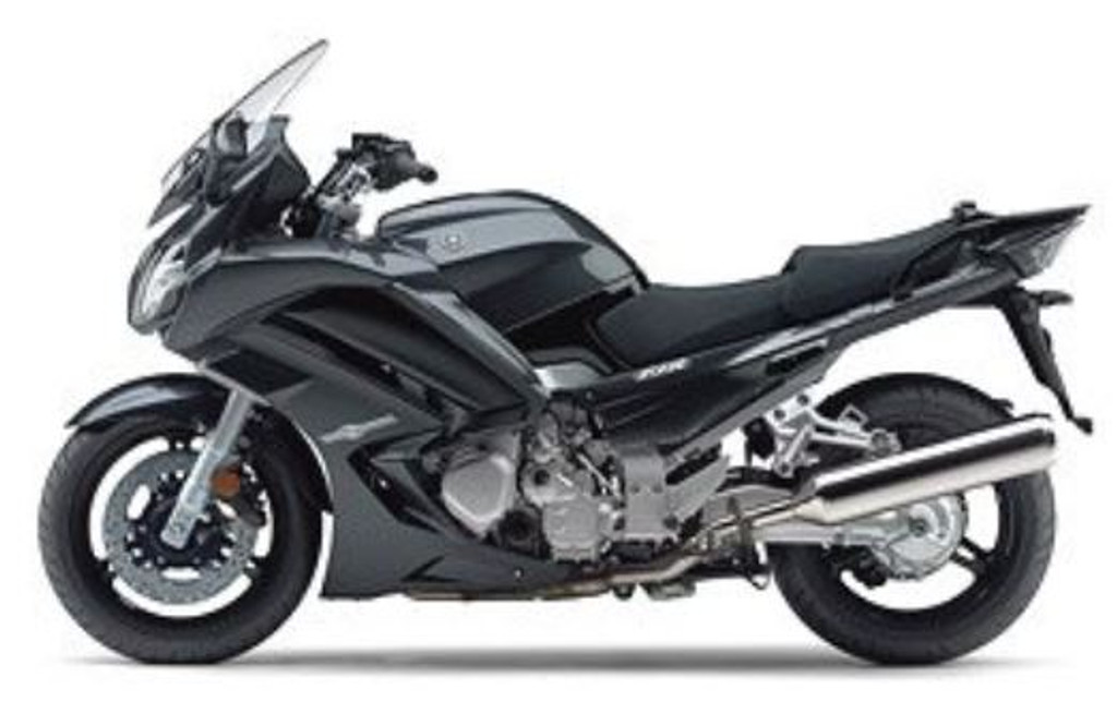 Aoshima 10680 Yamaha FJR1300A Dark Gray Metallic N 1/12 Scale Finished Model