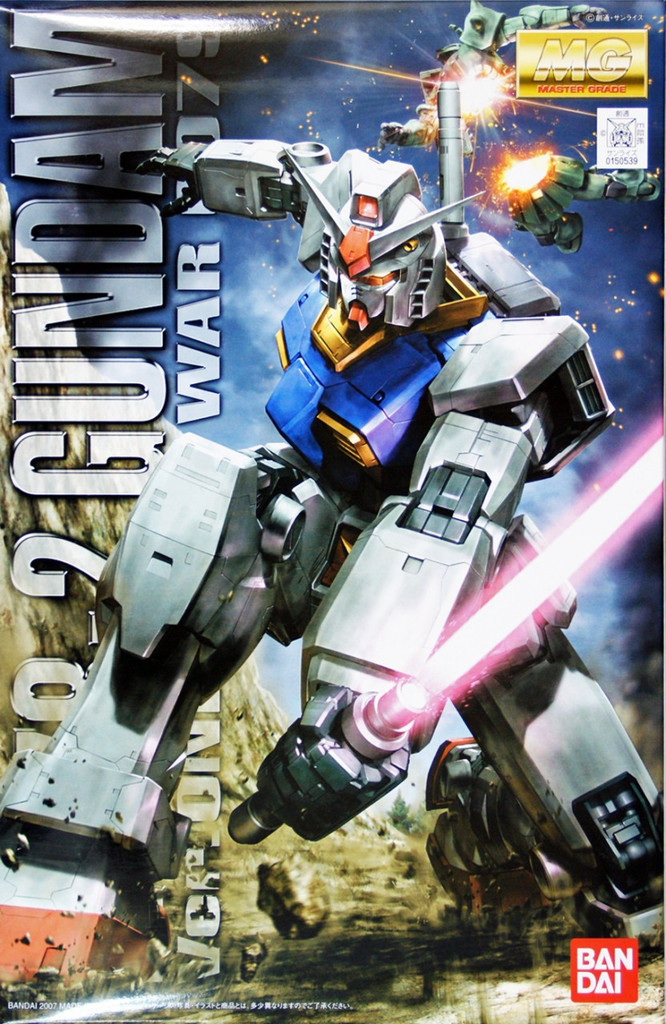 Bandai MG 505392 Gundam RX-78-2 One YEAR WAR 0079 1/100 Scale Kit