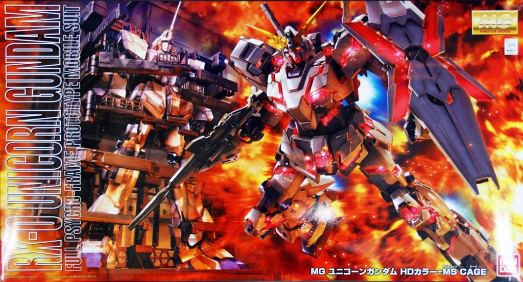 Bandai MG 620521 Gundam RX-0 Unicorn Gundam 1/100 Scale Kit