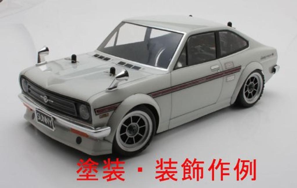 Datsun Sunny Coupe B110 / Body Set with Light Buckets