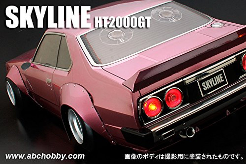 1/10 Skyline Works Over Fender Ver1 Clear Body