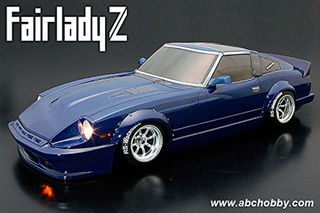 1/10 Nissan Fairlady Z S130 Street Custom Clear Body