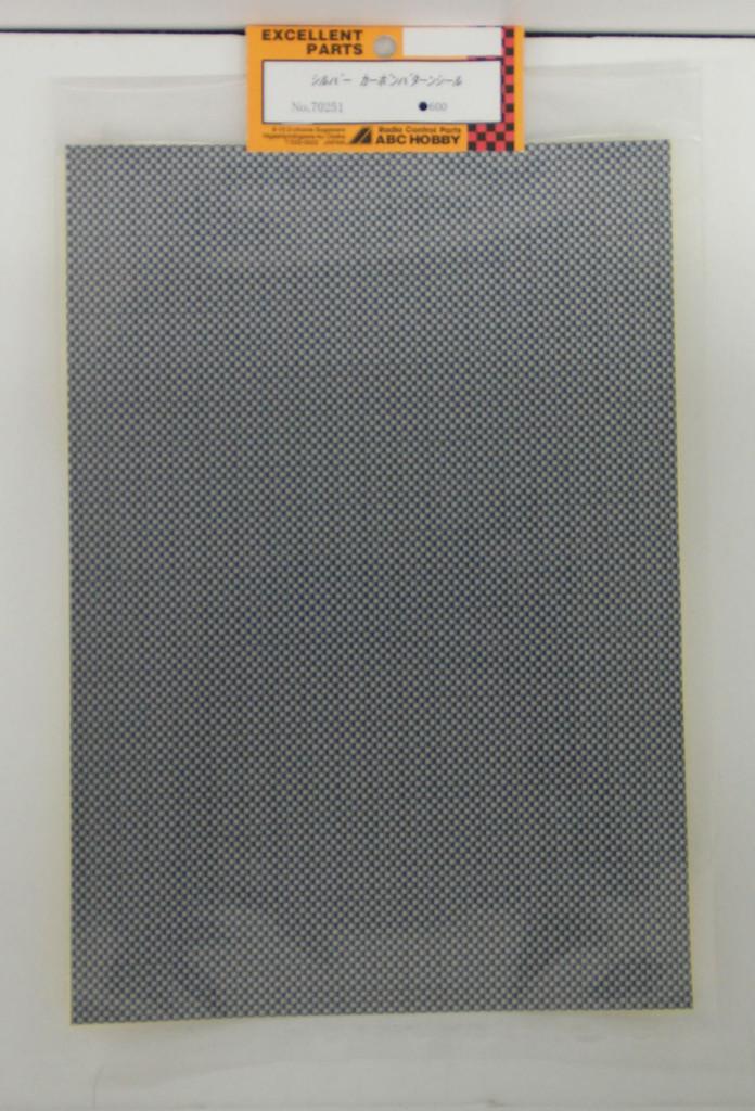 Silver Graphite pattern sticker