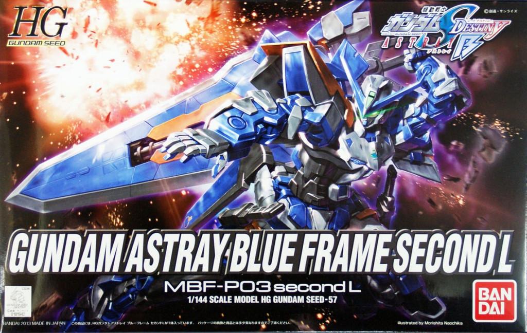 Bandai HG Gundam Seed Gundam Astray Blue Frame Second L 1/144 Scale Kit