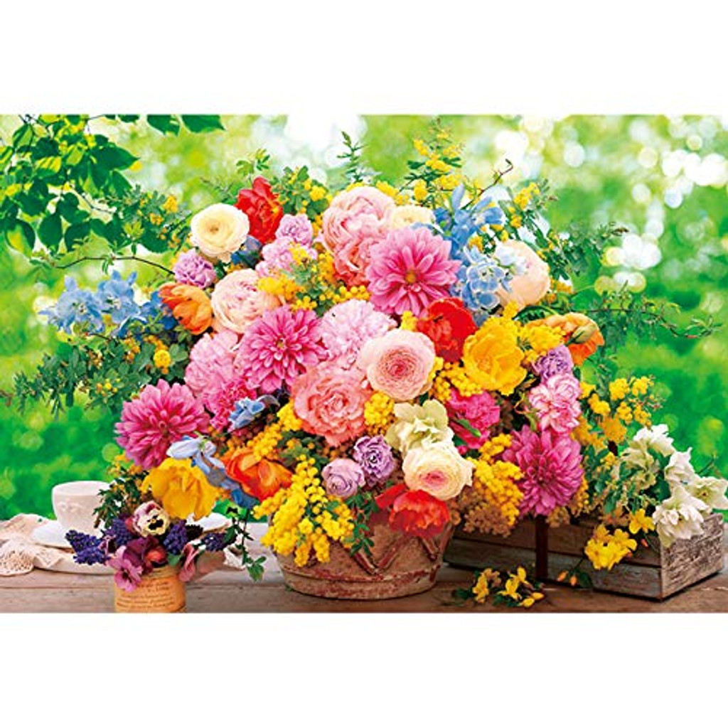 APPLEONE Jigsaw Puzzle 300-346 Flowers Sweet Memories (300 Pieces)
