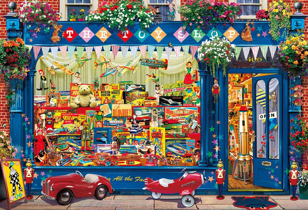 Beverly Jigsaw Puzzle M81-580 Gary Walton Toy Shop (1000 S-Pieces)