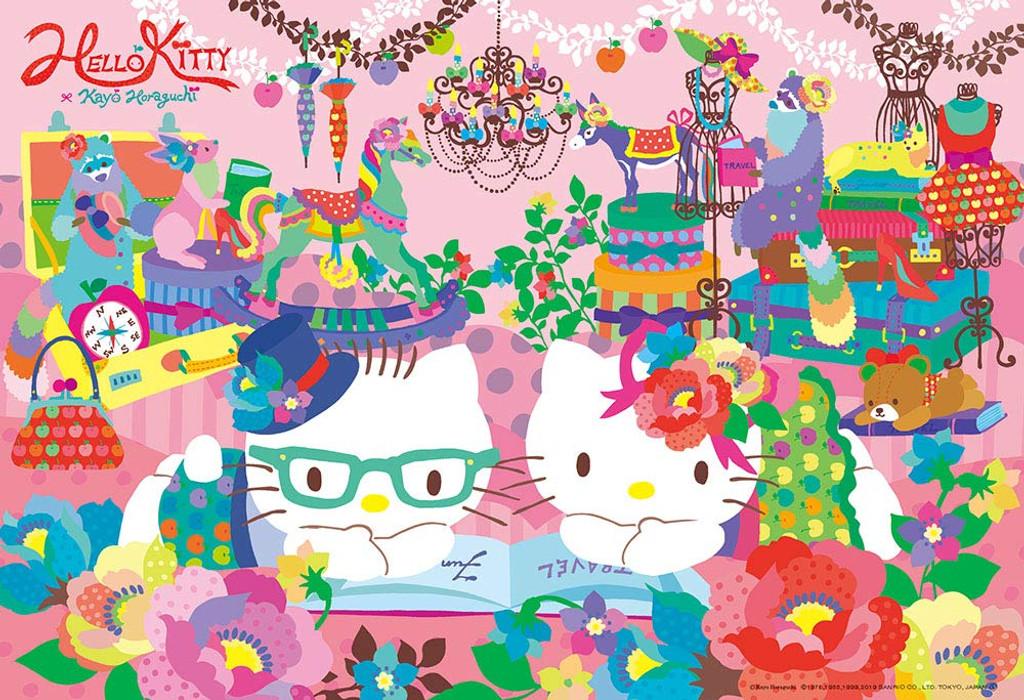 Beverly Jigsaw Puzzle 93-144 Horaguchi Kayo Hello Kitty (300 Pieces)