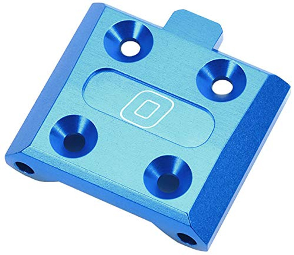 Tamiya 54907 (OP1907) Aluminum Front Suspension Mount 0 Degree (Blue)