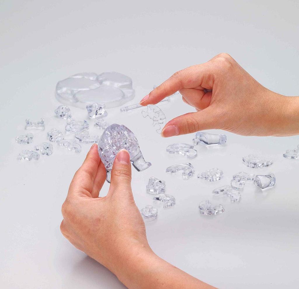 Beverly Crystal 3D Puzzle 486619 Polar Bear (39 Pieces)