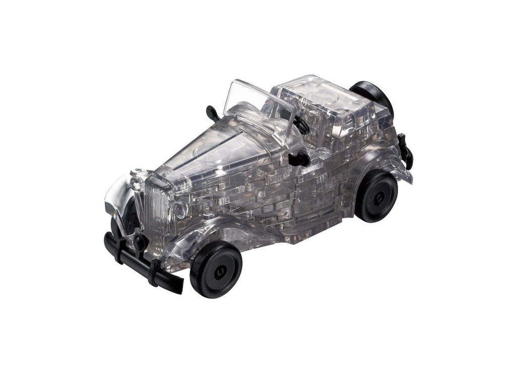 Beverly Crystal 3D Puzzle 483854 Classic Car Black (53 Pieces)