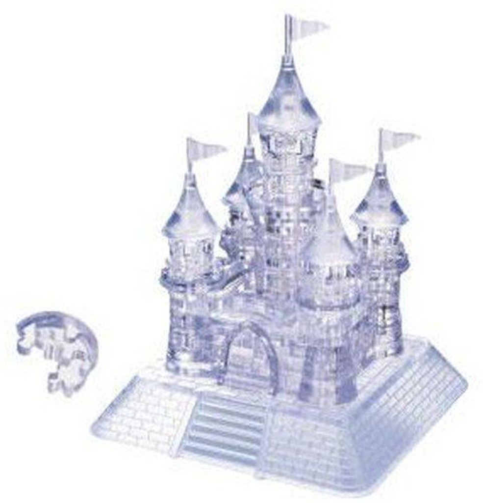 Beverly Crystal 3D Puzzle 482789 Castle (105 Pieces)