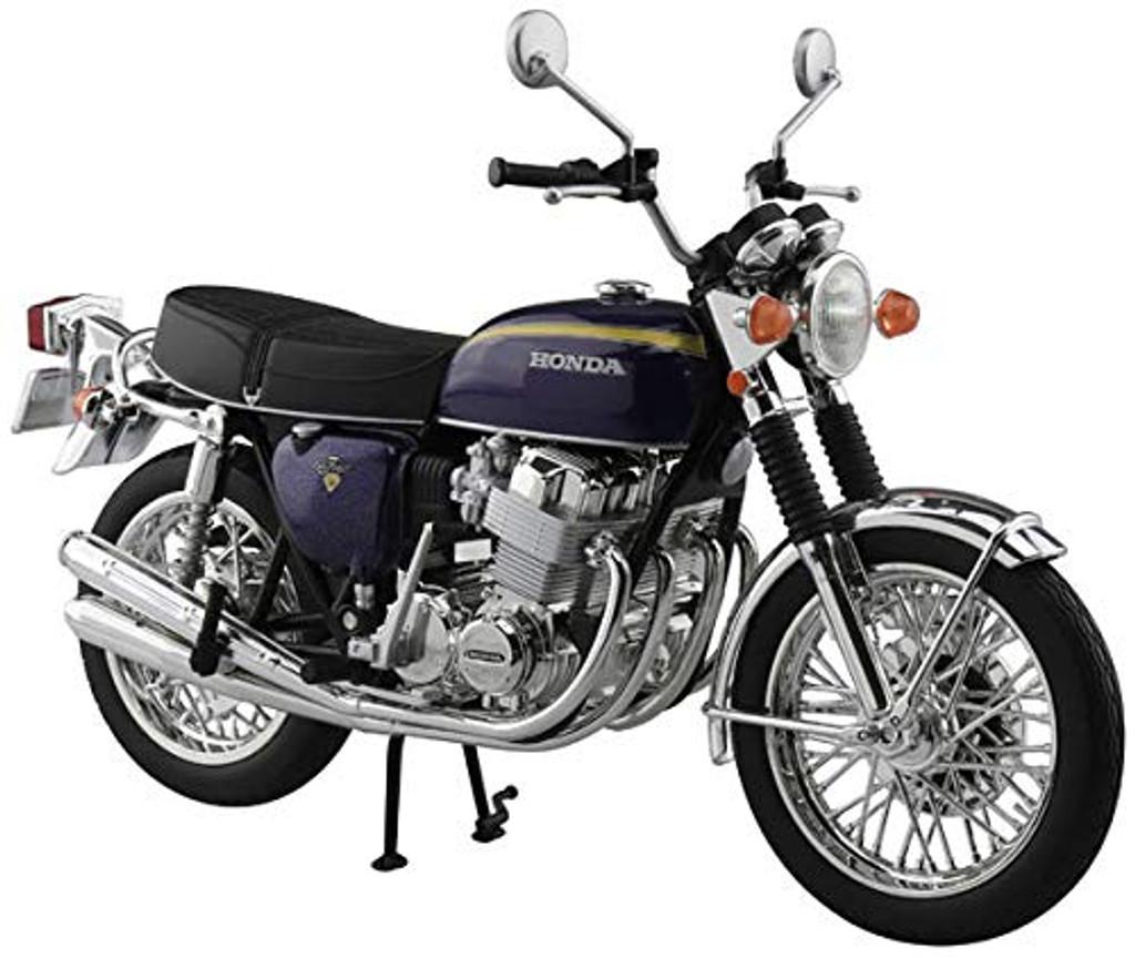 Aoshima Skynet 06594 Honda CB750FOUR (K2) Purple 1/12 Scale Finished Model