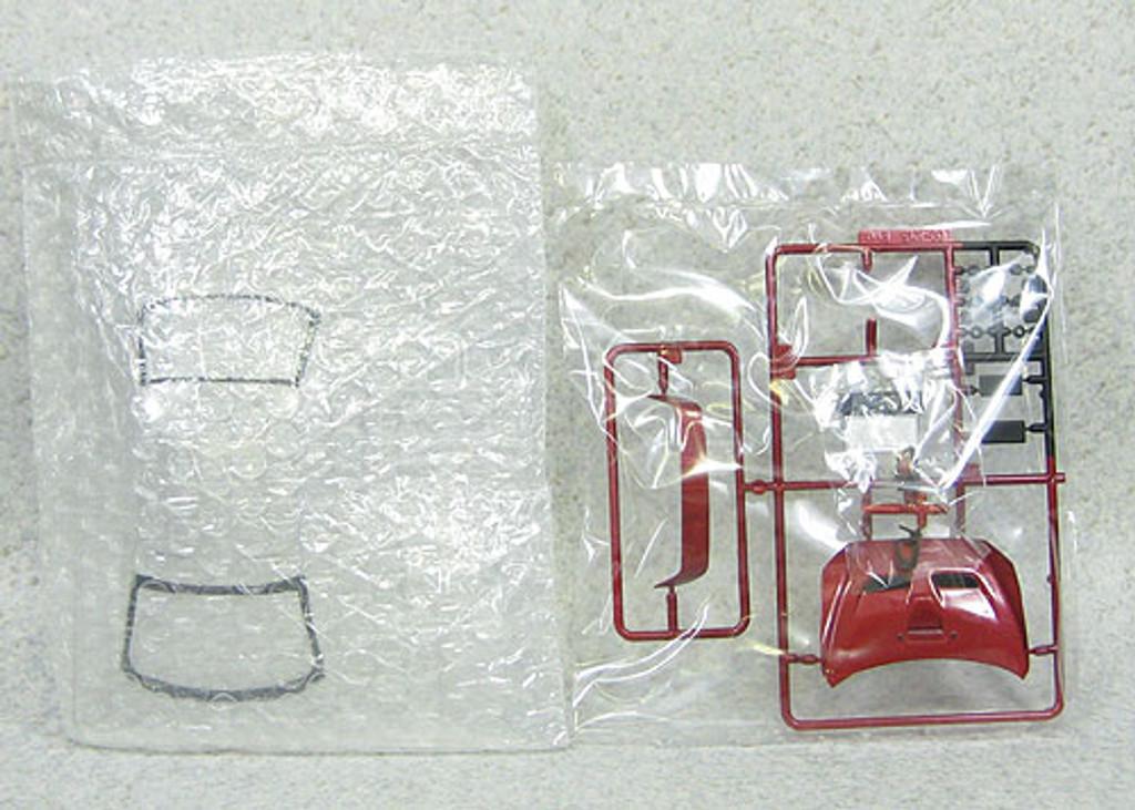 Aoshima 08027 Mitsubishi Lancer Evolution X 2009 Model Red Metallic 1/24 Scale Kit (Pre-painted Model)