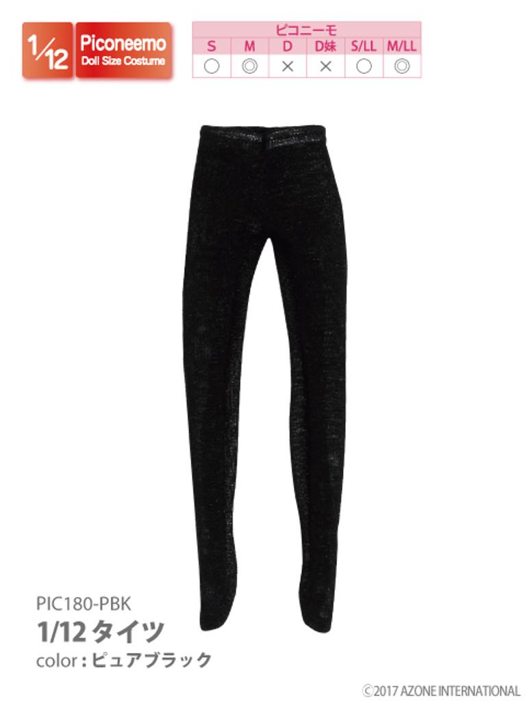 Azone PIC180-PBK Tights (Pure Black)