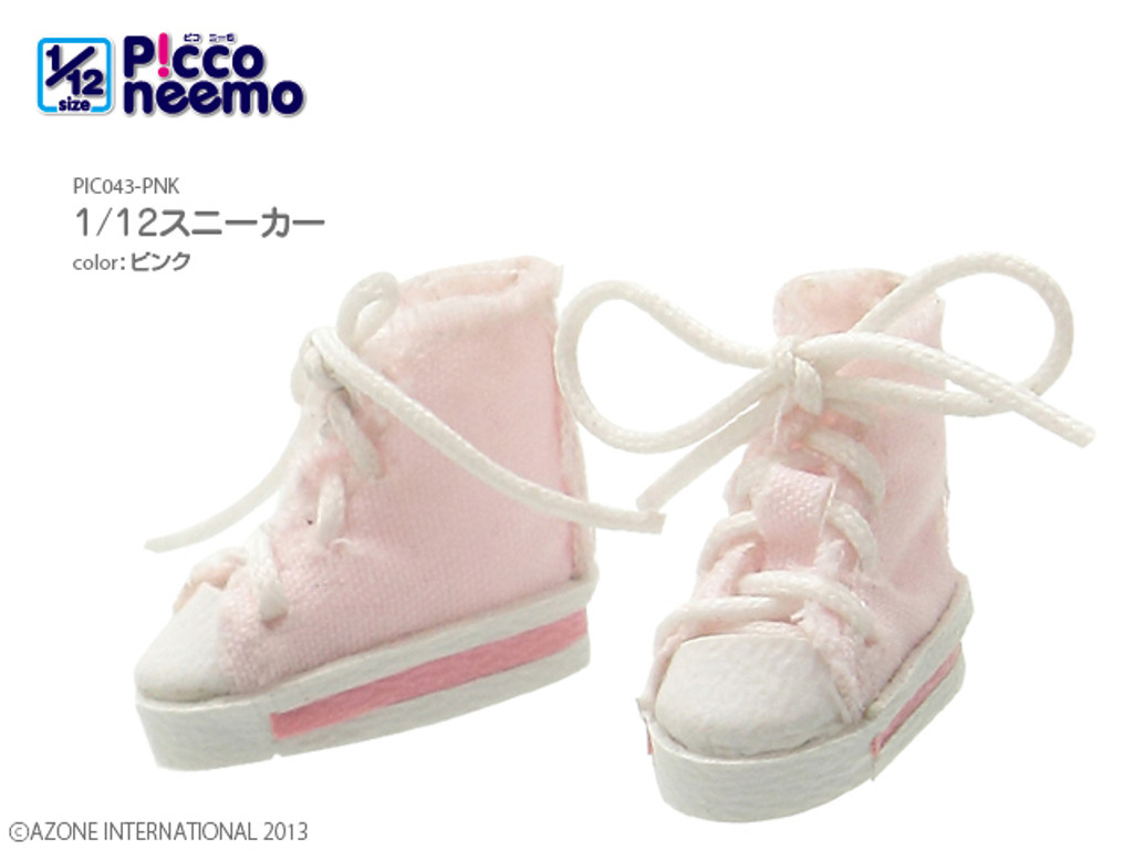 Azone PIC043-PNK Picco Neemo Sneakers (Pink)