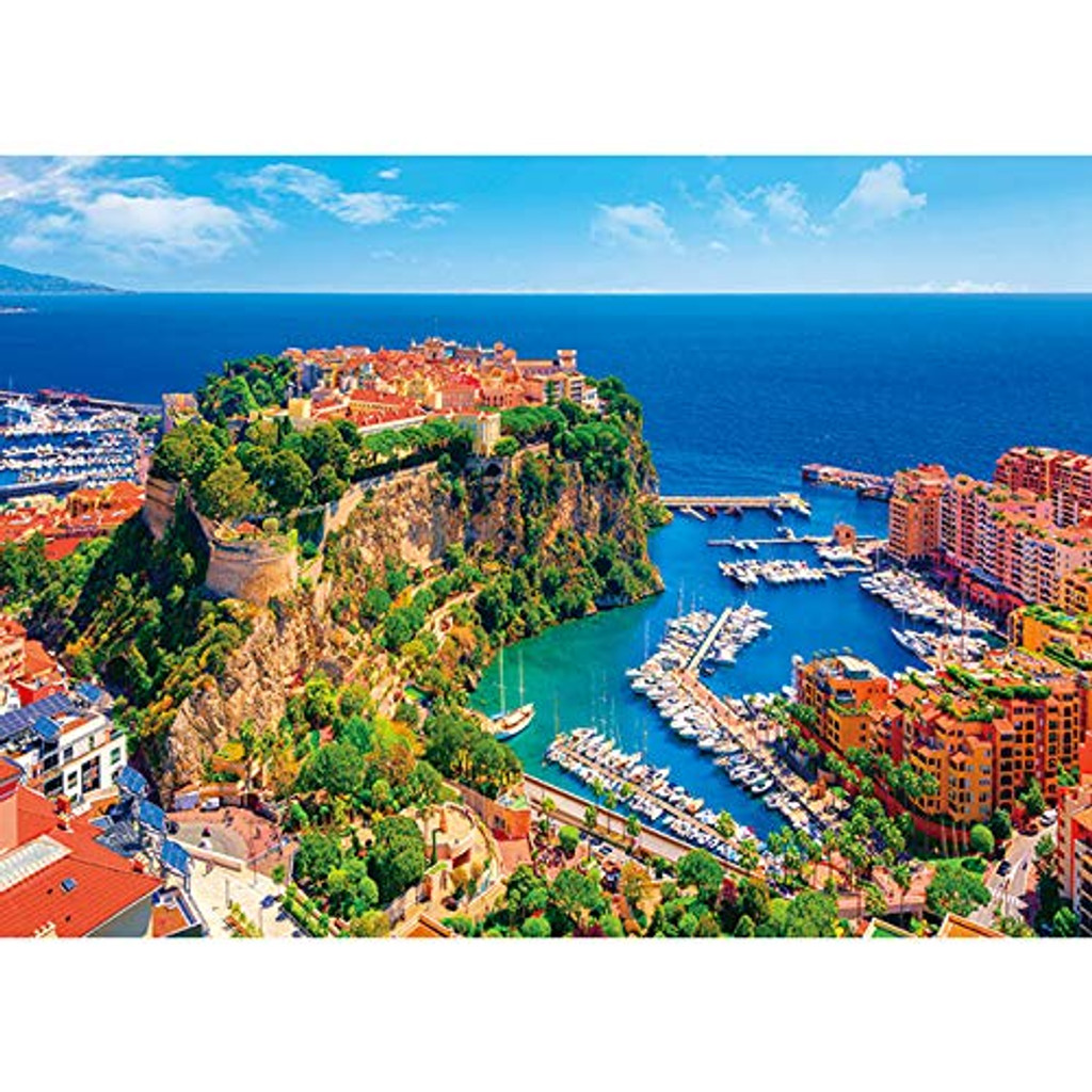 APPLEONE Jigsaw 500-267 Beautiful Monaco (500 Pieces)