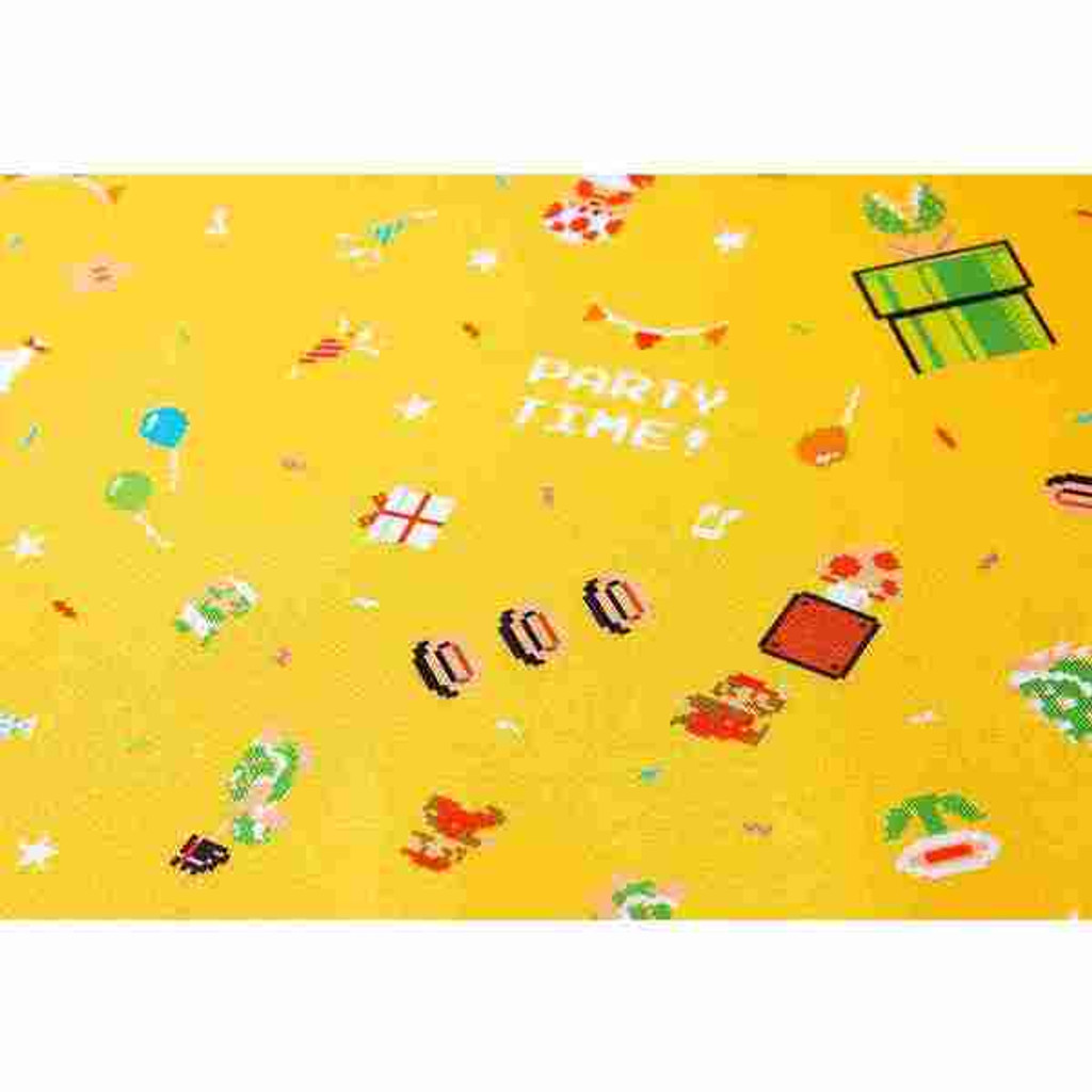Nintendo Super Mario Home & Party Tablecloth 8-bit Party (Yellow)