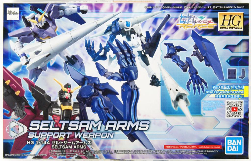 Bandai HG Gundam Build Divers Re:RISE 15 Zeltzam Arms 1/144 Scale Kit